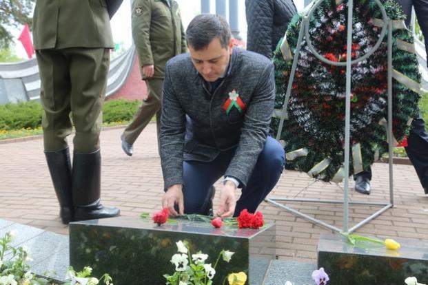 Посещение памятника воинам-освободителям в г.Бобруйске.