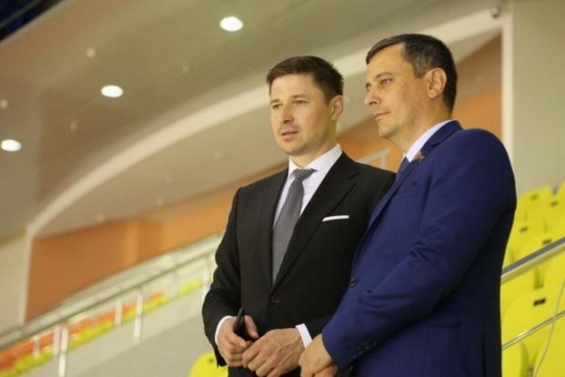 Посещение спортивного комплекса «Бобру́йск-Арена».