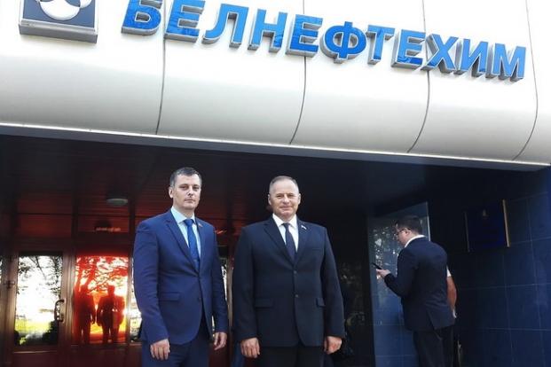 "Участие в заседании совета концерна ""Белнефтехим""."