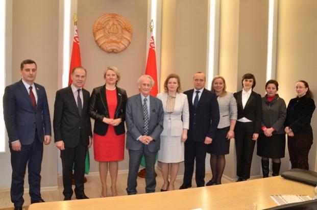 Расширенное заседание научно-консультативного совета по вопросам социально-экономического развития Республики Беларусь при Президиуме Совета Республики Национального собрания Республики Беларусь. 30 марта 2017 года.