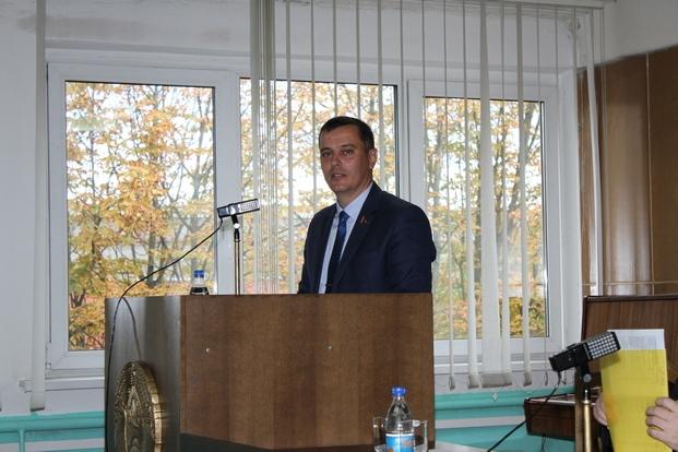 Встреча с трудовым коллективом ЗМШ ОАО «Белшина».